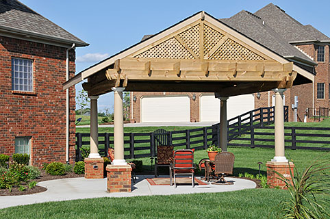 Walls Patios and Garden Structures